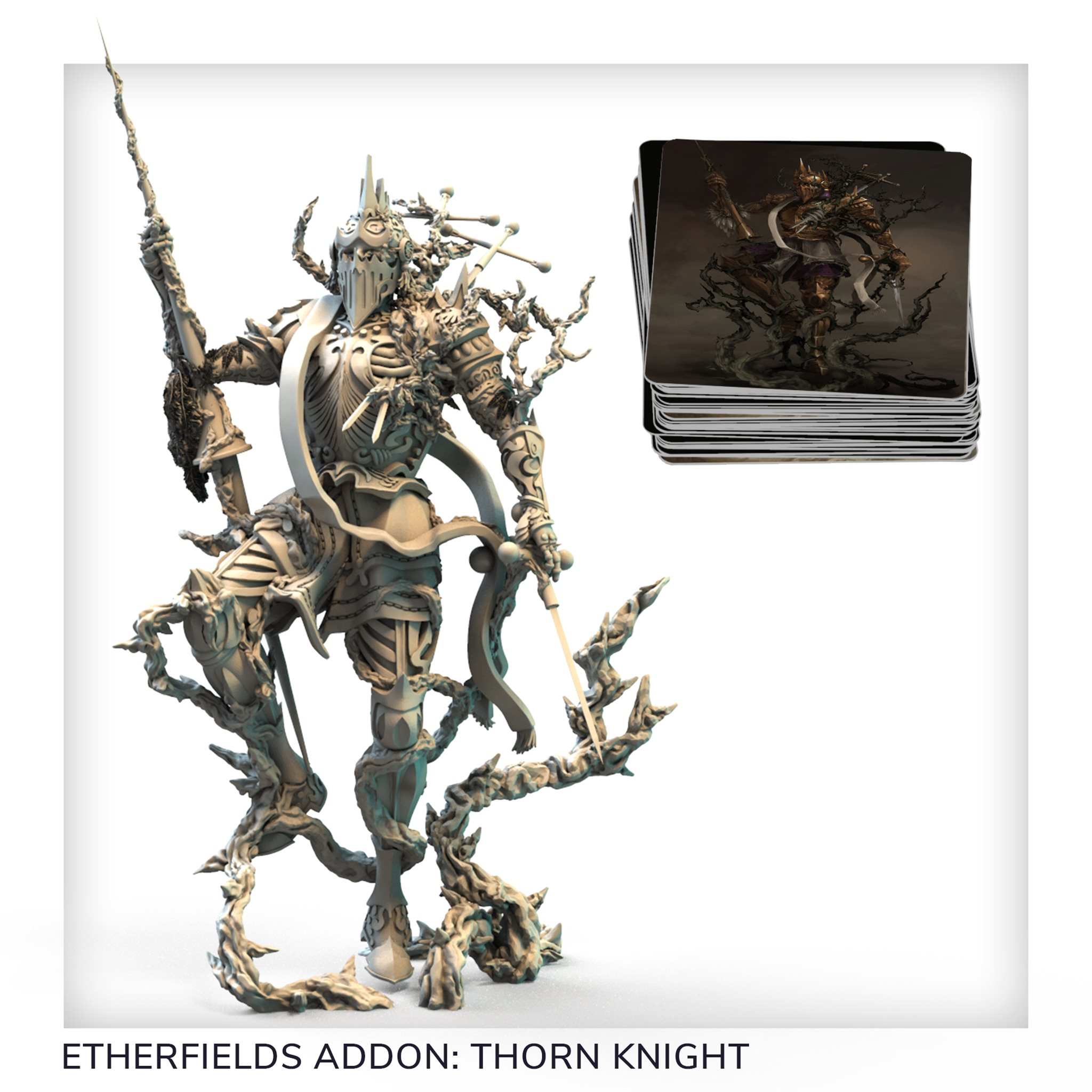 Creatures of Etherfield Thorn Knight Awaken Realms Details about  /Etherfields Pledge Bundle