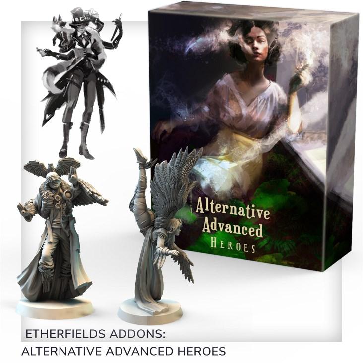 Etherfields Board Game MULTILISTING Awaken Realms Dream Crawler 2020
