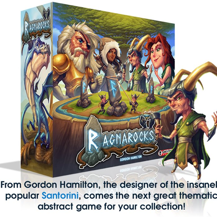 Ragnarocks - A fast, fun game from the designer of Santorini