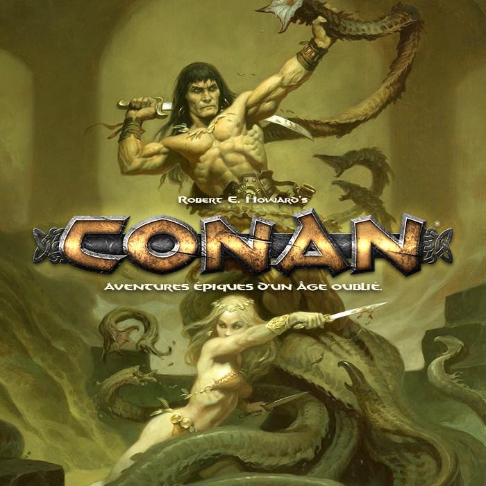 CONAN - Le jeu de rôle d'Aventures épiques d'un Âge oublié.