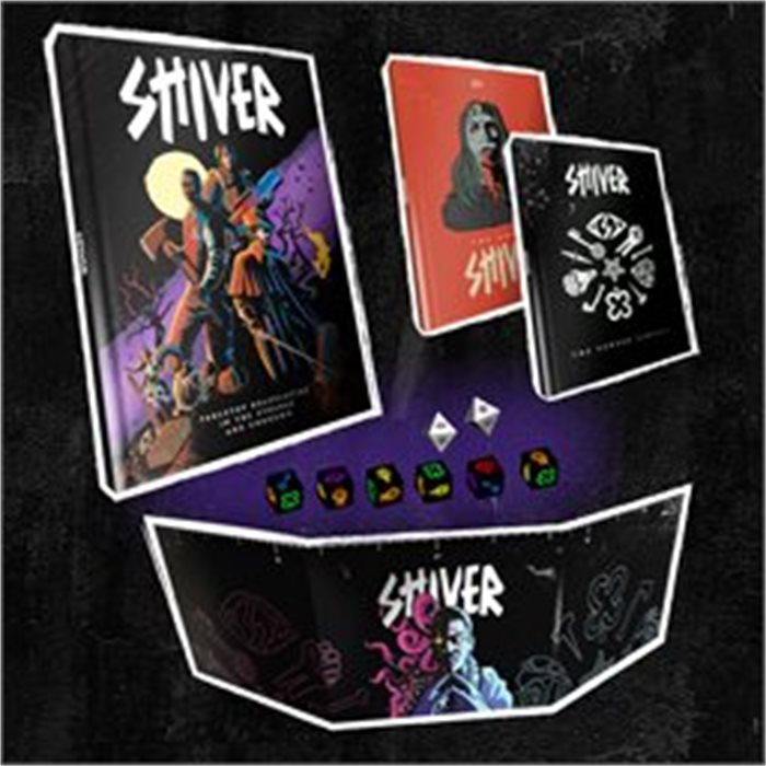 SHIVER: Horror Roleplaying in the Strange & Unknown