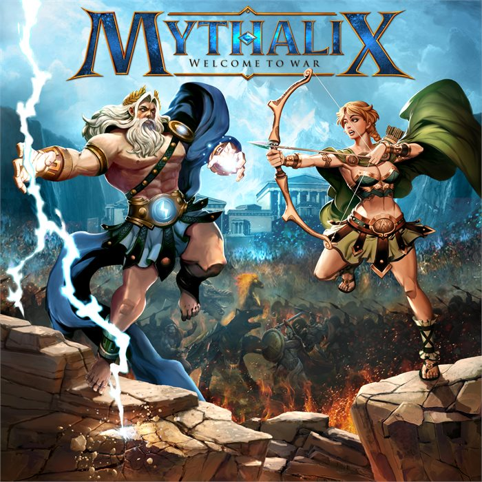 Mythalix: Chapter 1: Greek Mythology