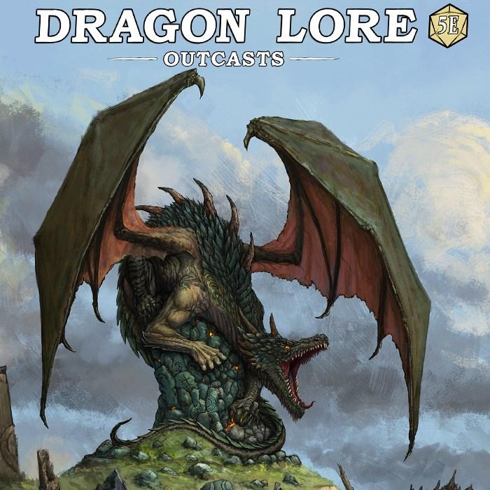 Dragon Lore, a Unique Source Book for 5e RPG.